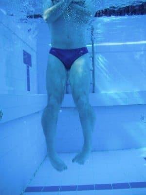 אימון שחייה פרפר
