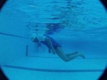 לימוד שחייה בסגנון פרפר