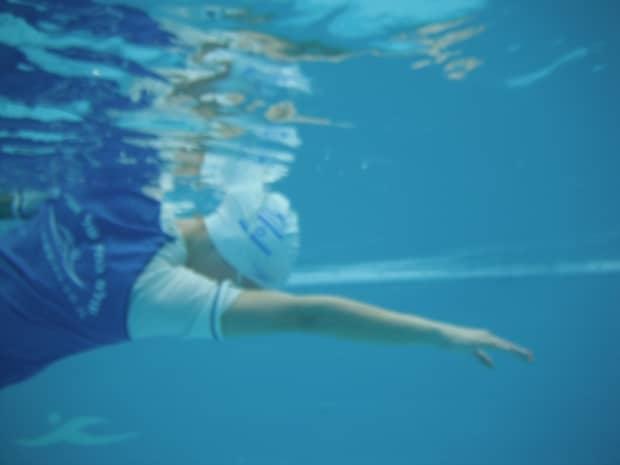 שחיה בהריון בטכניקת ווסט